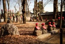 九品仏浄真寺にあるお地蔵さん