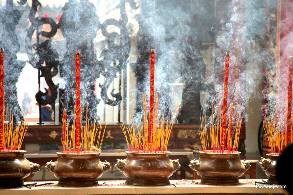 ベトナムのお寺