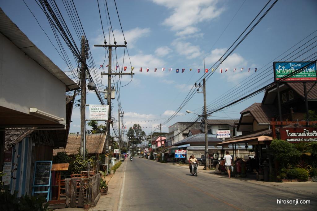タイ・国境の街チェンコーンからメーサローンへ