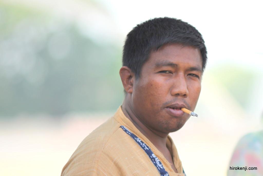 ミャンマー・チン州ミンダ村(1)シュポシュポマン登場
