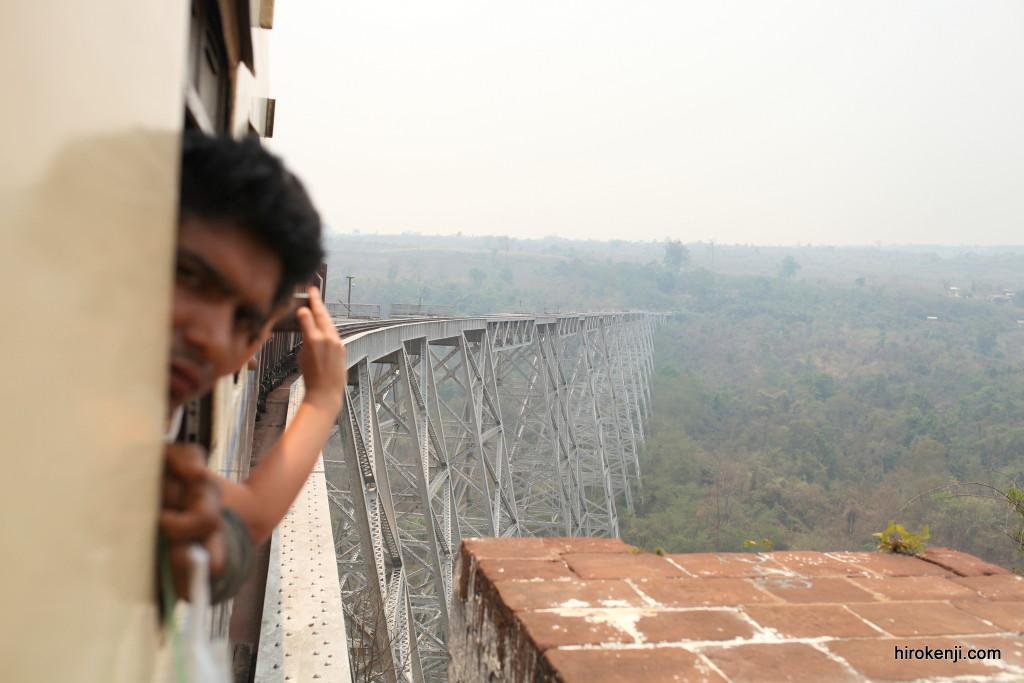 世界第2位を誇る迫力のゴッティ鉄橋を渡りティーボーへ