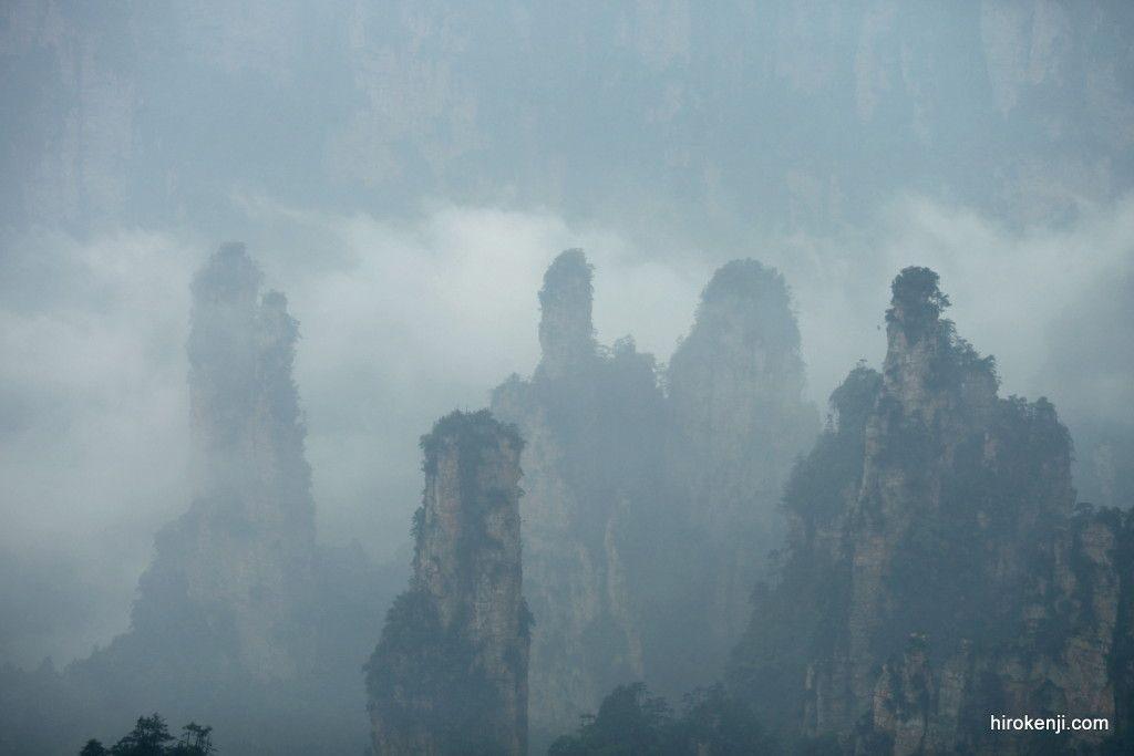 【中国-武陵源】幻想の絶景〜雨天と曇天の三日間