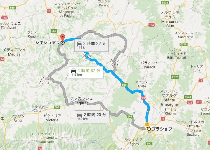 map-romania