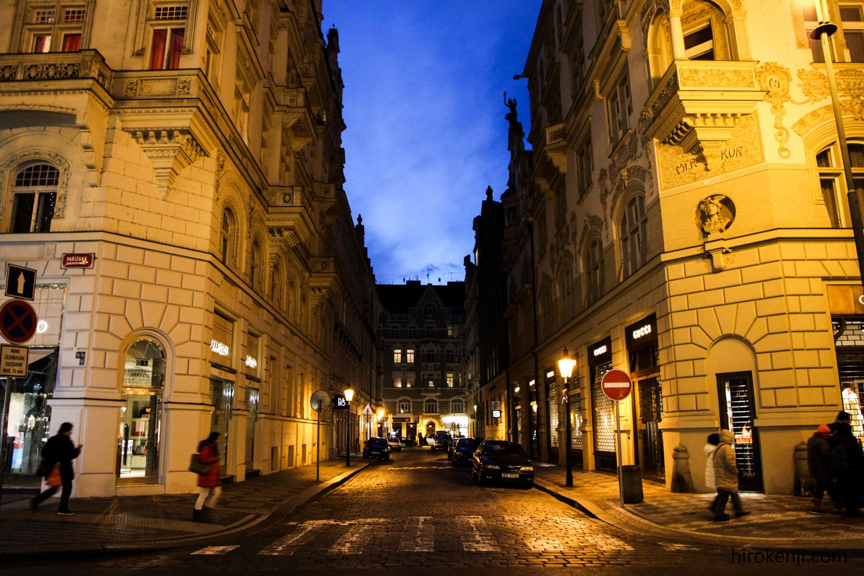 プラハの街並み05