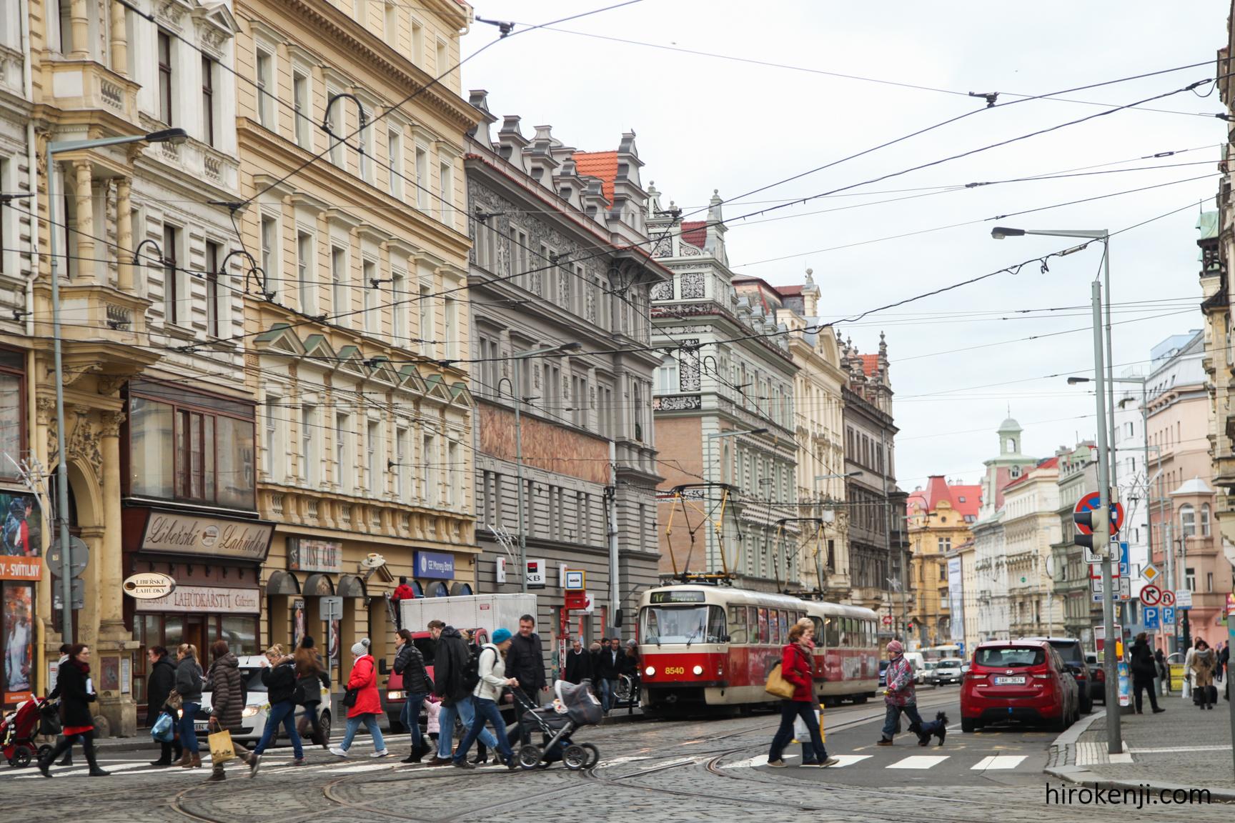 プラハ街並み
