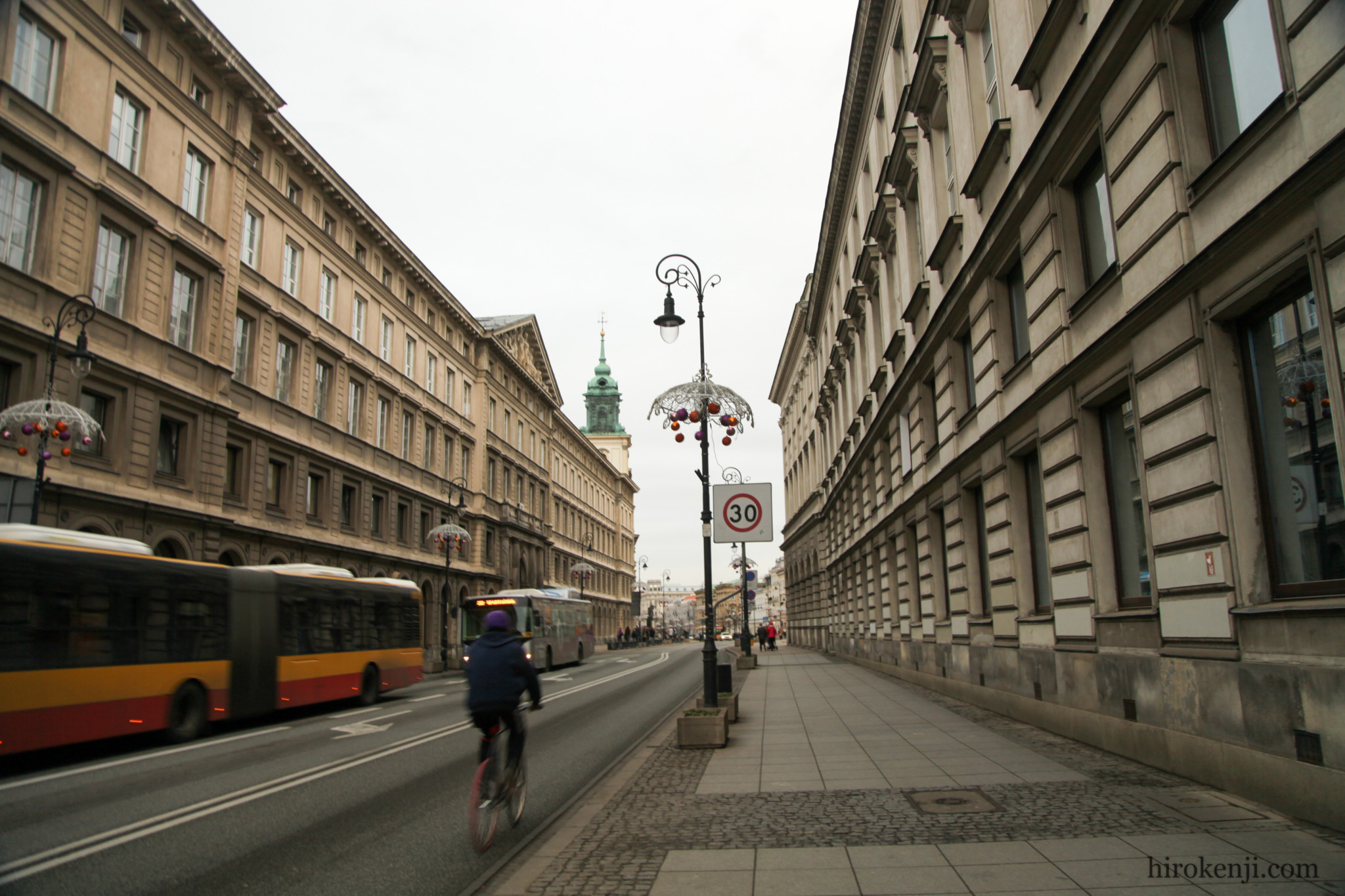 ワルシャワの街並み01