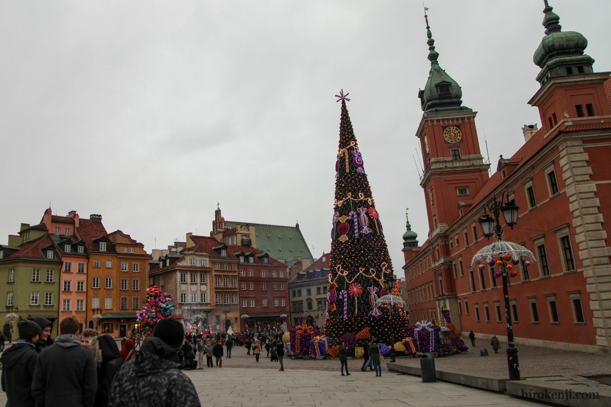 ワルシャワの街並み02