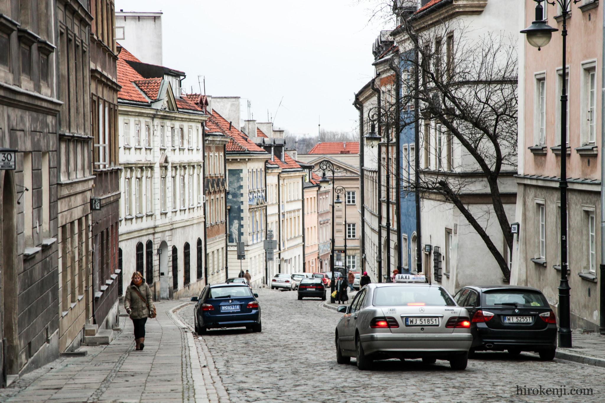 ワルシャワの街並み04