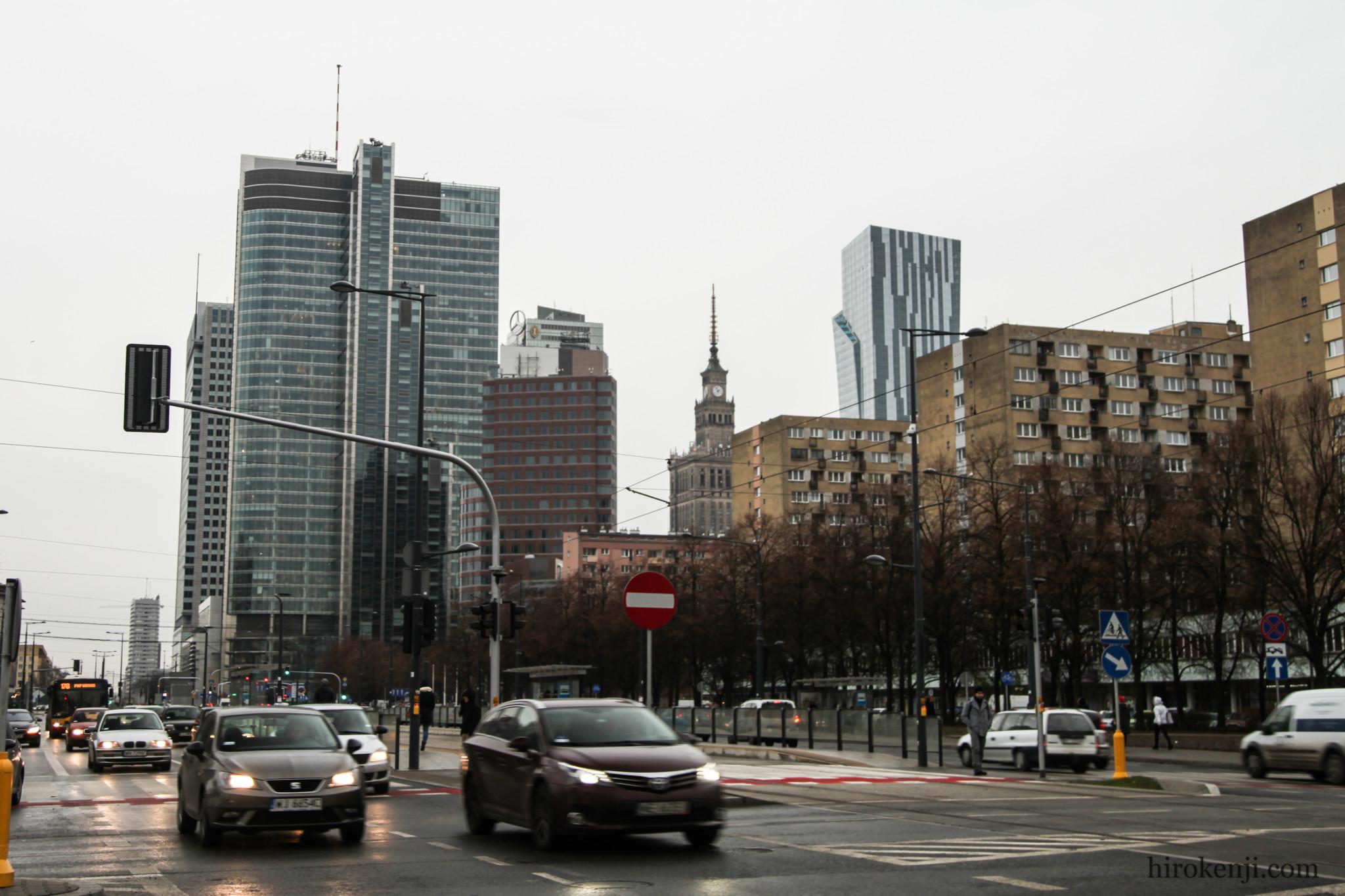 ワルシャワの街01