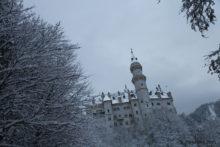 ノイシュヴァンシュタイン城の観光は無感動でただ寒いだけだった