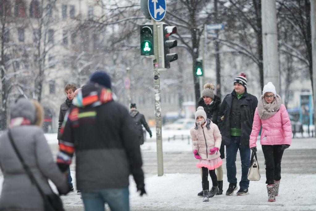 【冬のミュンヘン観光】雪のミュンヘンとマイケルジャクソンの追悼