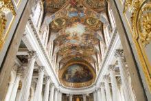 ヴェルサイユ宮殿を無料で観光して、スタバで女性に間違えられた