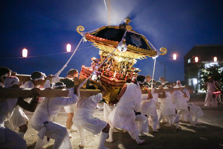 三好の祭り