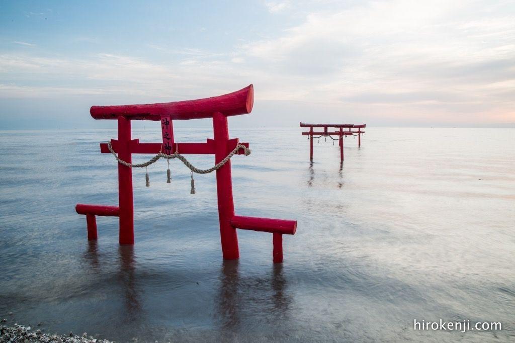 大魚神社の鳥居