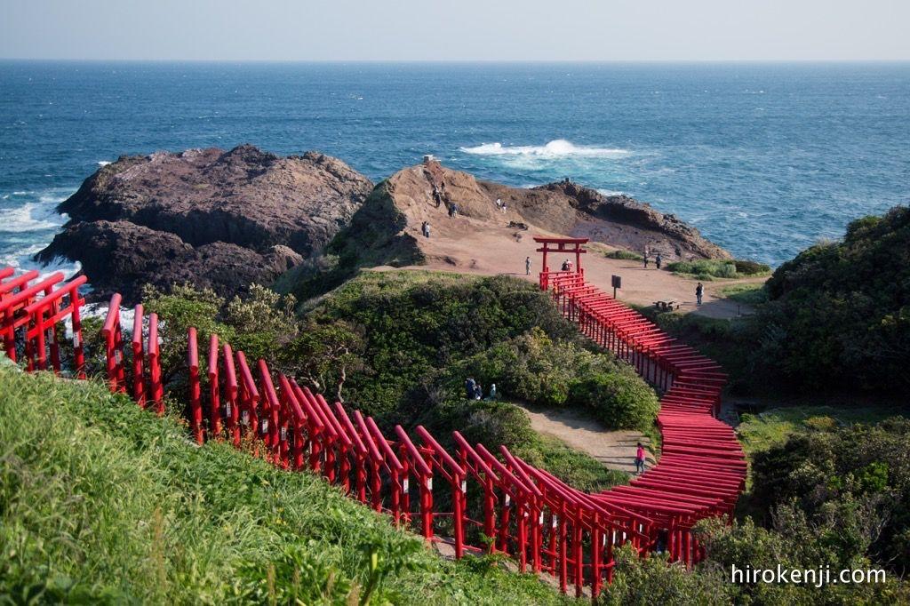 元乃隅神社の鳥居
