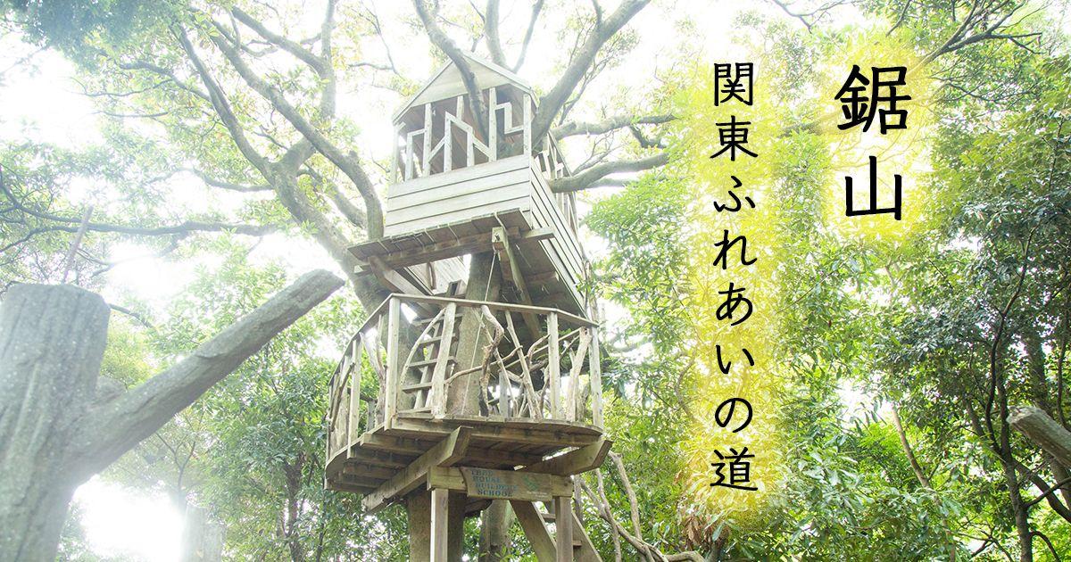 【鋸山・関東ふれあいの道コース】393段の階段と放置されたツリーハウスのある登山道